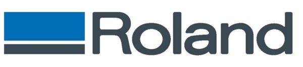 logotipo roland cortadora