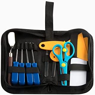 Lot de 12 mini-outils de désherbage en vinyle en acier inoxydable pour HTV, Lettering, ORACAL, Siser, Silhouette et Cameo