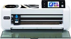 Brother CM260 ScanNCut máquina de Corte/marcaje con escáner Integrado Acero Inoxidable/plástico Blanco/Negro 50 x 17 x 20 cm.
