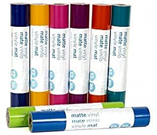 """Silhouettes Premium Adhesivo Vinilo - 12"""" x 6 pies Rollo (Beige, Final Mate)"""