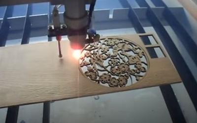 cortar madera con plotter laser